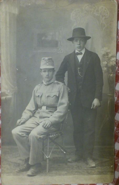 Rudolf Horák v KUK uniformě
