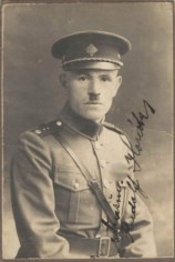 Rudolf Horák v četnické uniformě