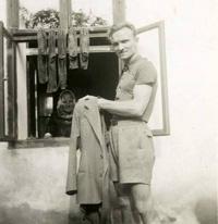 Městec Králové. Patrně červen 1945