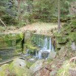 Údolí Suché Kamenice jez