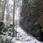 Údolí Suché Kamenice u Krummerbaude