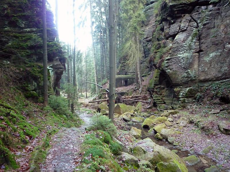 Údolí Suché Kamenice řopík