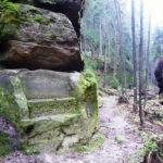 Údolí Suché Kamenice císařská lavice