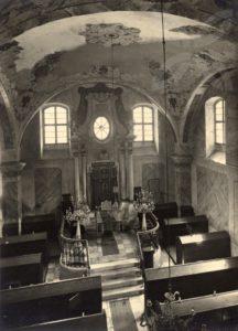 synagoga usov vnitřek