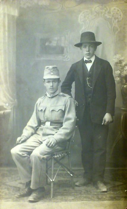 Rudolf Horák v uniformě KUK