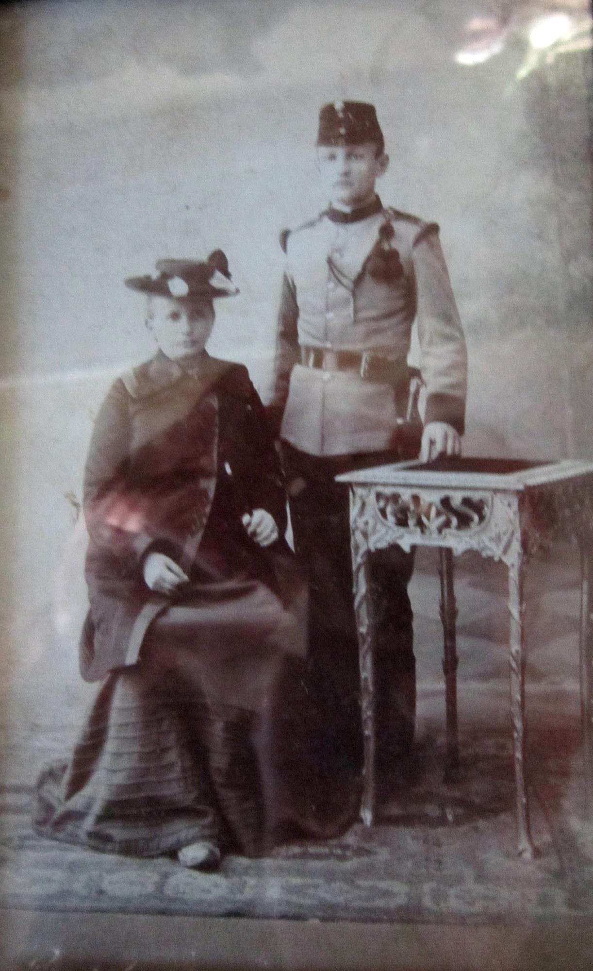 babička se strýcem