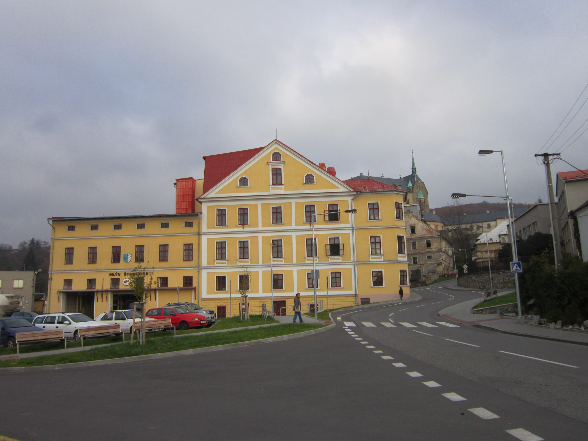 Mlýn kde se po válce léčili sovětštví vojáci a Hildegarda Sedlářová v něm musela uklízet